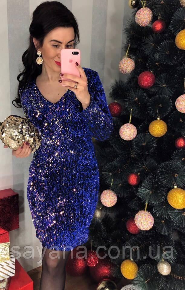 Женское праздничное платье с вырезом на спинке в расцветках. Д-26-1218