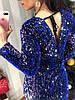 Женское праздничное платье с вырезом на спинке в расцветках. Д-26-1218 , фото 7