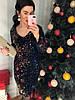 Женское праздничное платье с вырезом на спинке в расцветках. Д-26-1218 , фото 6