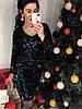 Женское праздничное платье с вырезом на спинке в расцветках. Д-26-1218 , фото 8