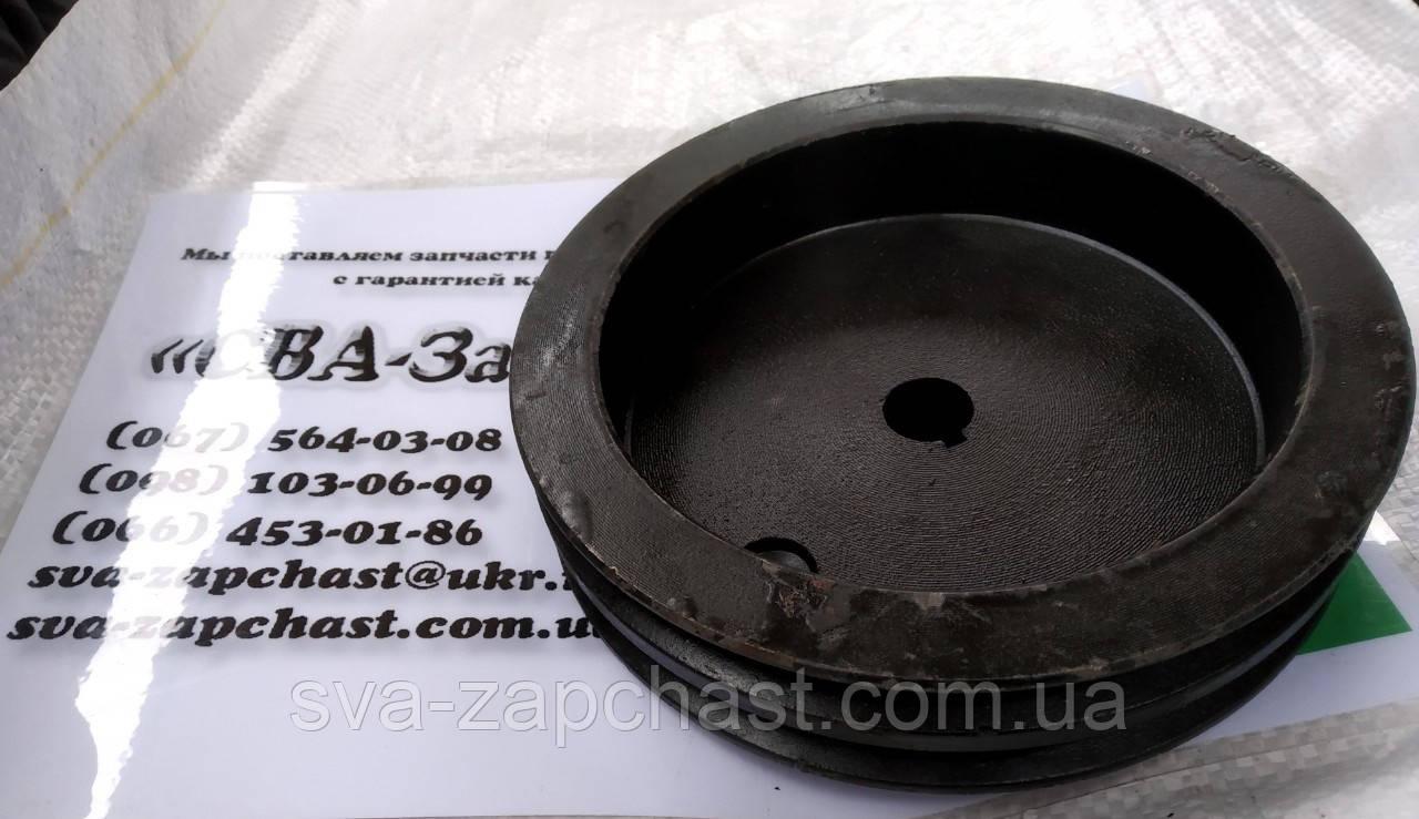 Шкив компрессора ПАЗ 3205 н/о 2 ручья 3205-3509133
