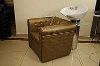 Кресло-мойка E015 :кресло+колонна с раковиной и сантехникой