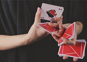 Карты игральные | FLEXIBLE (Red) Playing Cards by TCC, фото 2