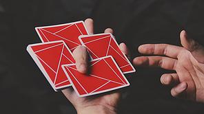 Карты игральные | FLEXIBLE (Red) Playing Cards by TCC, фото 3