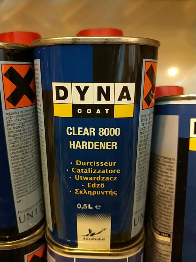 Отвердитель для лака DYNA Clear Hardener 8000 0,5л