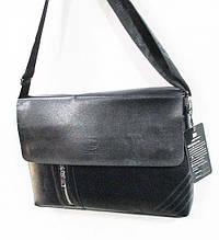 Мужская  сумка размер 36 х 25 см цвет черный