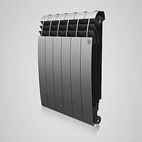 Радиатор Royal Thermo BiLiner 500 Silver satin 8 секц. (сірий) (НС-1170754)