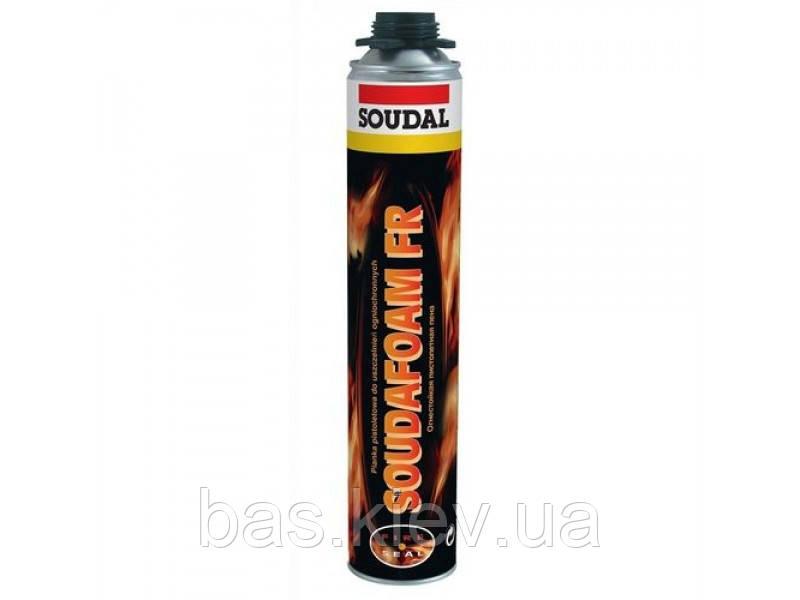 Пена монтажная противопожарная Soudafoam FR GUN 750 мл. (под пистолет)