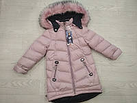Зимнее пальто (р. 110, 116), фото 1