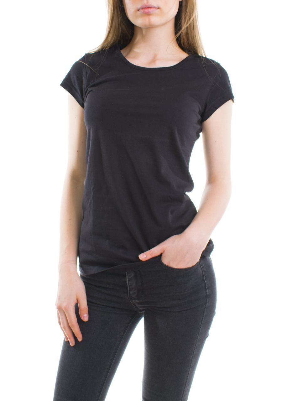 Bono женская футболка черная 950101