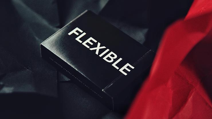 Карты игральные | FLEXIBLE (Black) Playing Cards by TCC