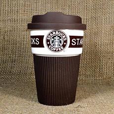 Термокружка керамическая  CUP Стакан StarBucks 008 PR1, фото 3