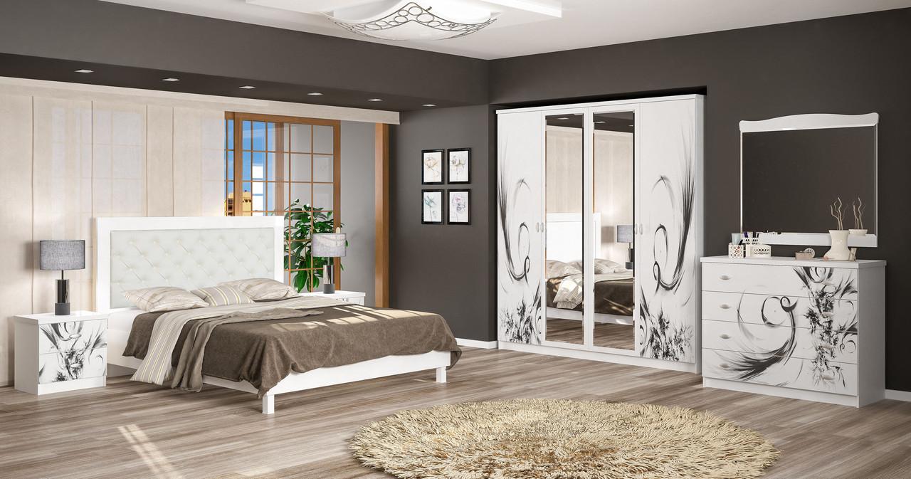 Спальня Ева/Єва белый Мебель-сервис