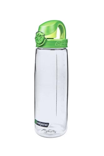 Пляшка для води Nalgene OTF On The Fly 650 мл. Прозоро-Зелена