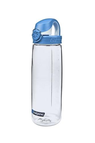 Пляшка для води Nalgene OTF On The Fly 650 мл. Прозоро-Синя