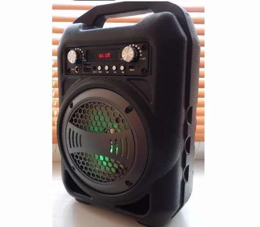 Беспроводная портативная Bluetooth блютуз колонка BS-12 SUPER BASS SPEAKER
