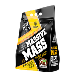 Swedish supplements - Massive Mass - 3,5 kg Cinnamon Bun