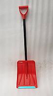Лопата для уборки снега INTERTOOL красная