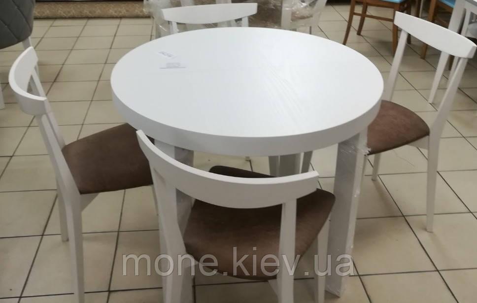"""Комплект круглый стол и 4 стула"""" Палермо"""""""