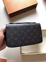Мужской брендовый бумажник Louis Vuitton