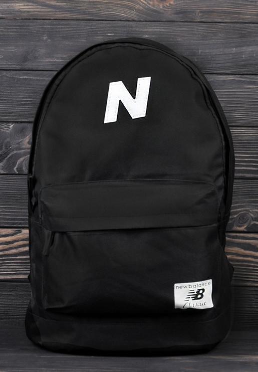 Спортивный рюкзак New Balance (Нью Бэлэнс) черный