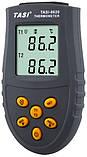 """2-х канальний термометр з термопарами """"TASI-8620"""" (-50...1350°C), фото 2"""
