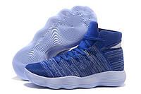 Баскетбольные кроссовки  Nike HyperDunk 2017 Flyknit  синие
