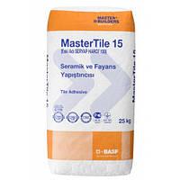 Клей цементный для плитки, керамики, мрамора, гранита 3- 6 мм BASF MasterTile 15