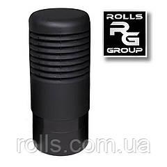 ROSS - 160 Дефлектор, колпак цокольного аэратора Vilpe ROSS 160/170 Чёрный RR33 RAL 9005