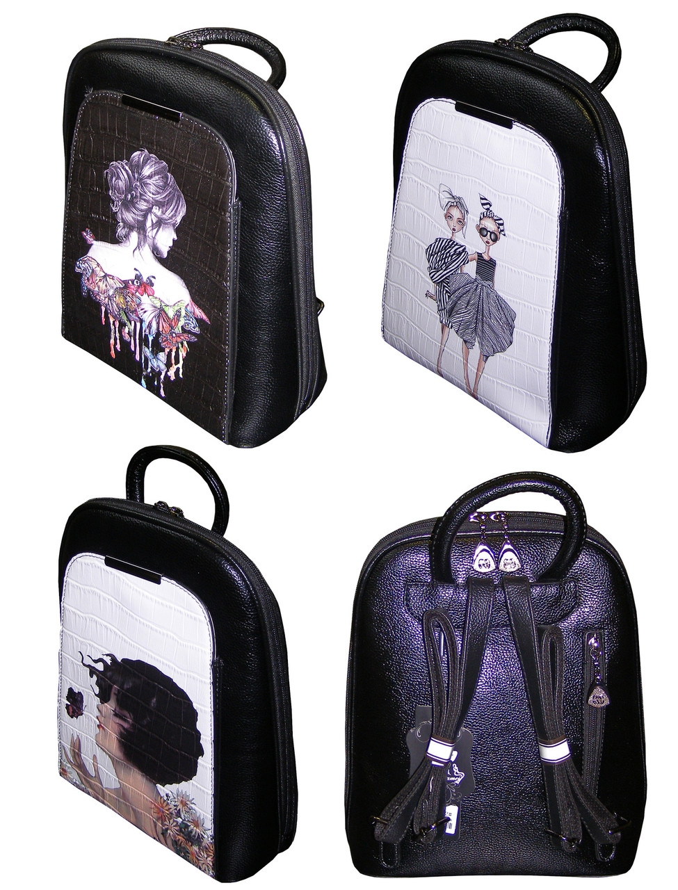 Рюкзак-сумка, молодежный 153, КРАСОТКА, кожзам