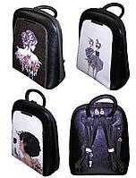 Рюкзак-сумка, молодежный 153, КРАСОТКА, кожзам, фото 1