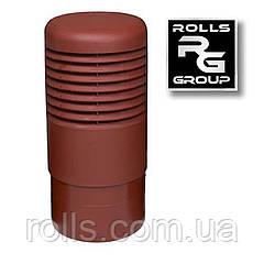 ROSS - 160 Дефлектор, колпак цокольного аэратора Vilpe ROSS 160/170 Красный RR28/29 RAL 3009