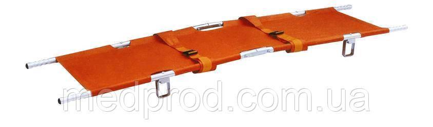 Носилки медицинские А08 продольно-поперечно складные для скорой помощи, зарегистрированы