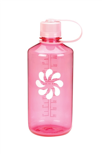 Пляшка для води Nalgene Narrow Mouth 1 л. Розова