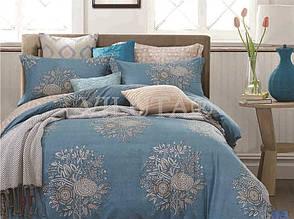 Натуральный комлект постельного белья сатин люкс Tiare евро 9T