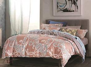 Натуральный комлект постельного белья сатин люкс Tiare евро 12T