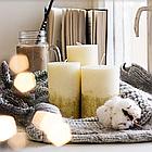 Набір свічок з глітером, фото 2