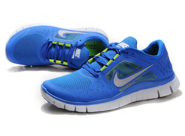 855a88220a2 Кроссовки мужские Nike Free Run 5.0 синие с белым купить в Киеве ...