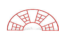 Лестница-паутина БК-783Л
