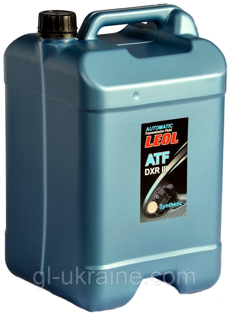 ЛЕОЛ ATF DXR III, Трансмиссионное масло 10 л