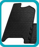 Резиновый водительский коврик для Iveco Daily 5 2011-2014 (STINGRAY)