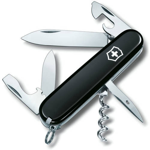 Надежный складной нож Victorinox Spartan 13603.3 черный