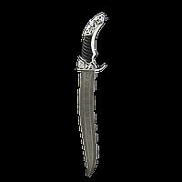 Серебряный нож подарочный