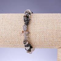 Браслет Кварц волосатик крошка обхват 18см