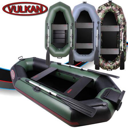 Гребная ПВХ лодка Vulkan V215 LSPT(ps), фото 2