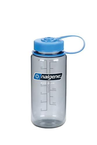 Пляшка для води Nalgene Wide Mounth Сіра 500 мл.