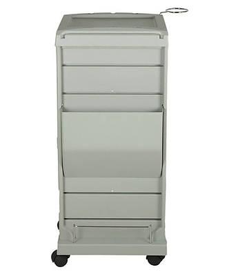 Парикмахерская тележка, пластиковая с полочками, фото 2