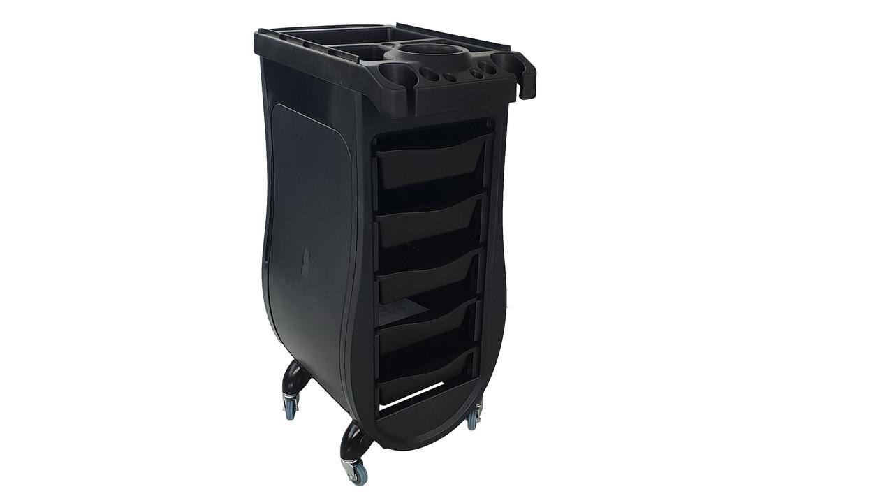 Пластиковая этажерка для парикмахеров