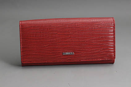 0a4163991a13 Купить Кошелек женский кожаный красный COSSROLL в Харькове от ...