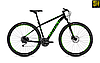 """Велосипед Ghost Kato 4.9 29"""" 2019 черно-зеленый"""